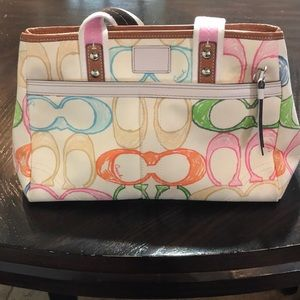 Coach Signature Bag and matching Wallet